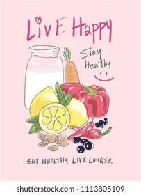 Milk Slogan Images, Stock Photos & Vectors | Shutterstock