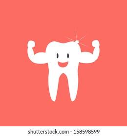Healthy Teeth - vector