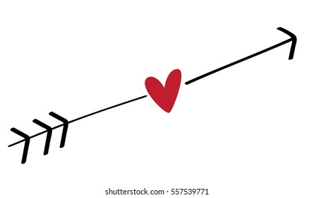 heart with arrow images stock photos vectors shutterstock rh shutterstock com heart with arrow coloring pages heart with arrow meaning