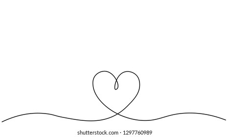 Line Drawing Heart Images, Stock Photos & Vectors | Shutterstock