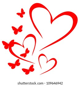 Heart and Butterfly