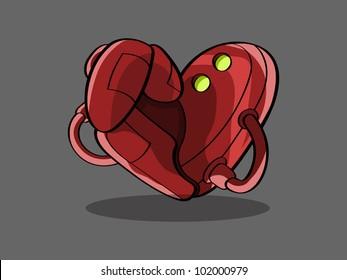 heart cartoon