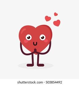 Heart character love