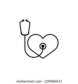heart endoscope icon. Element of Valentine's Day icon for mobile concept and web apps. Detailed heart endoscope icon can be used for web and mobile