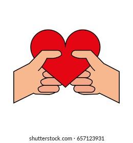 heart flat illustration