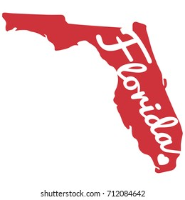 Heart Florida Red