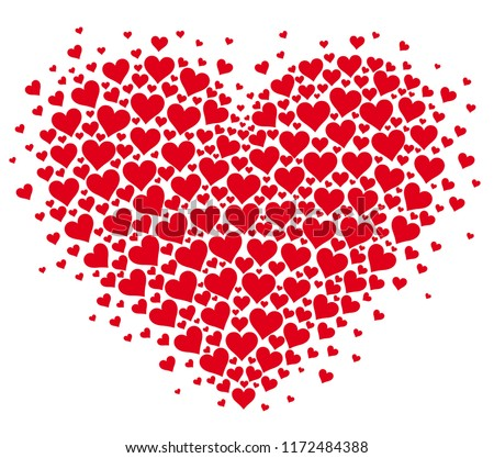 heart flutter my heart pounding love stock vector royalty free