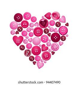 Heart Button Images, Stock Photos & Vectors | Shutterstock