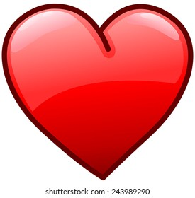 cartoon hearts images stock photos vectors shutterstock rh shutterstock com Cartoon Human Heart heart cartoon pictures free