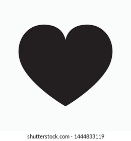 \t\nHeart icon. flat illustration of Heart vector icon for web