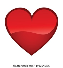 Heart  icon for graphic design projects