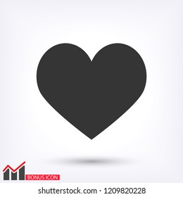 Heart icon  vector 10 eps design