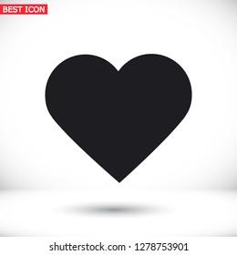 heart icon . Vector  Eps 10
