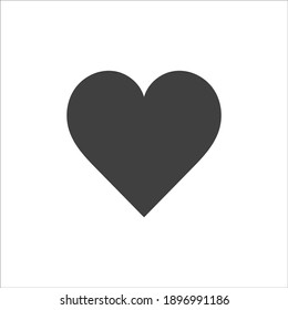 Heart icon, heart vector icon, heart icon illustration