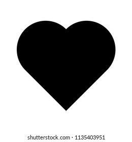 Heart icon. Heart vector. Like icon vector. Love icon