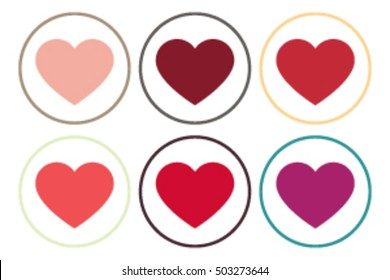 Heart Icon Vector.Valentine heart .Heart Icon Object. Heart Icon Picture. Heart Icon Image. Heart Icon Graphic. Heart Icon Art. Heart Icon Drawing