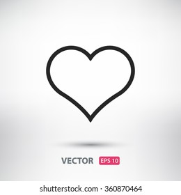 Heart, linear icon