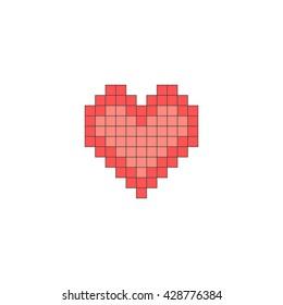 Heart love icon. Love design.