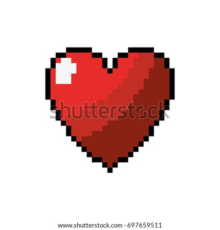 Heart Love Life Symbol Design Stock Vector Royalty Free 697659511