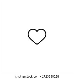 heart love romance icon vector