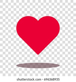 heart love valentine icon vector isolated