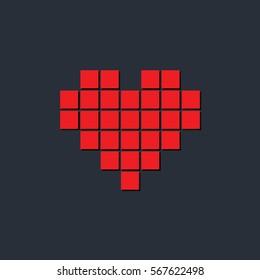 Heart, love,  Valentine's Day, icon