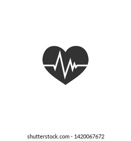 Heart Medical Icon and Logo Template