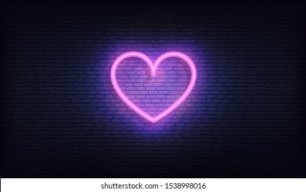 Neon Heart High Res Stock Images Shutterstock