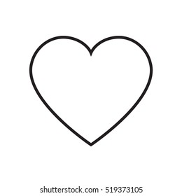 heart outline images stock photos vectors shutterstock rh shutterstock com heart outline vector free download heart outline vector image
