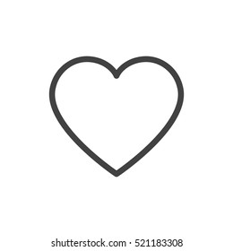 heart outline images stock photos vectors shutterstock rh shutterstock com outline heart emoji outline heart tattoo