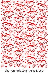 heart pattern seamless