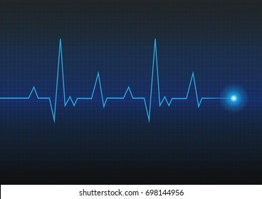 Heart pulse. Cardiogram. vector illustration