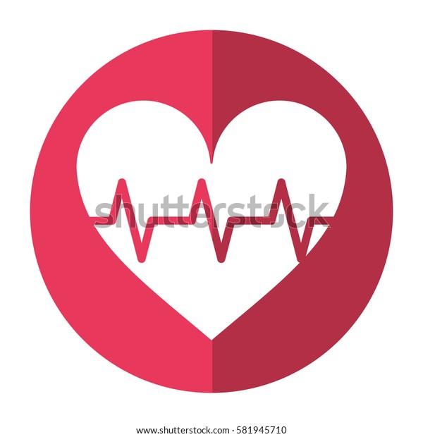 heart pulse rhythm cardio shadow