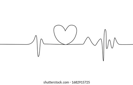 heart rate black white colors 260nw 1682915725