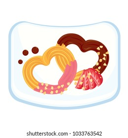 Heart Shape Churros