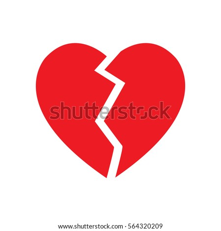 Heart Shape Symbol Stock Vector Royalty Free 564320209 Shutterstock