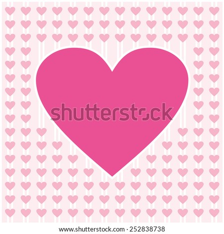 heart shape vector pattern background design ideas for valentines day love cards love