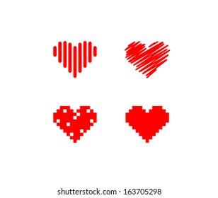 Heart symbols