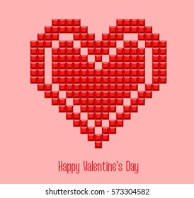 heart valentines 8-bit.