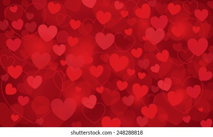 heart, vector background