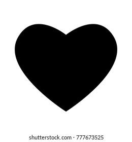Heart. Vector icon