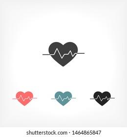 heart Vector icon . Lorem Ipsum Illustration design