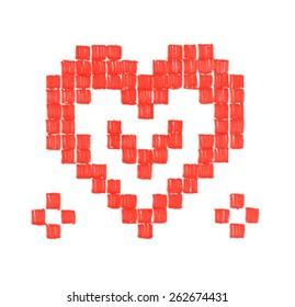 Heart. Vector illustration