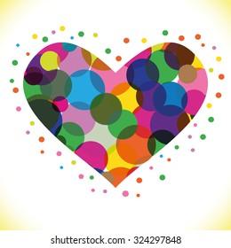 heart Vector Illustration icons symbols Valentine day
