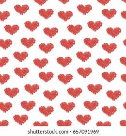 Heart wallpaper.Vector illustration.