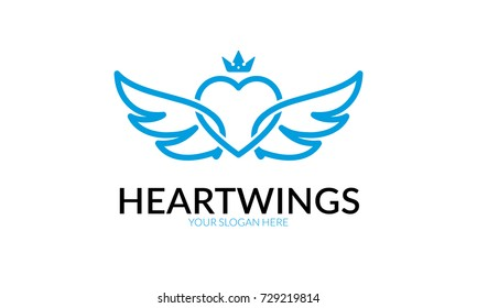 Heart Wing Logo