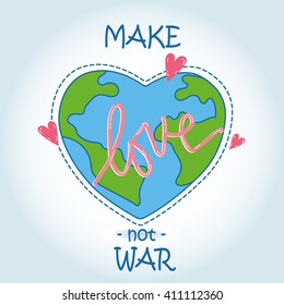 The Heart World - Love our earth. Peace for ever