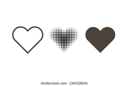 Hearth set. icon on a white background. Hearth icon.