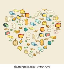 Hearth Shape-Cheese