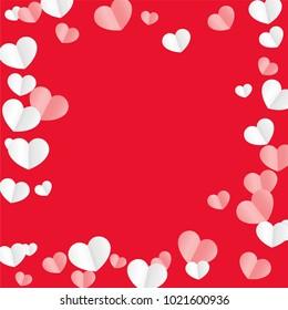 valentine border imágenes fotos y vectores de stock shutterstock